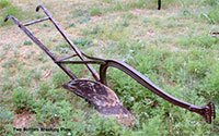 Two Bottom Breaking Plow